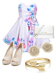 """""""Flowery"""" by hadleysfashions ❤ liked on Polyvore"""