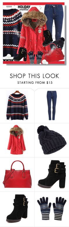 """ROMWE VIII/10."" by clumsy-dreamer ❤ liked on Polyvore featuring Accessorize and Munro American"