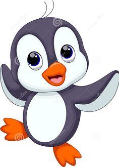 Prancing penguin