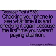 Is that most me cuz I do that all the time lol