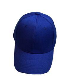 6de5a3d5334df Baseball Cap Blank Solid Color Velcro Closure Adjustable Plain Hat (All  Color) Loyal Blue CP12IR0LHXZ