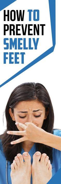 How to Prevent Smelly Feet. For detail click http://www.fireupfitness.com