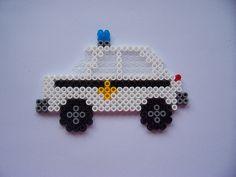 Police Car / hama perler beads / Bügelperlen