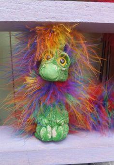 Rainbow Shoulder Puppet