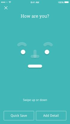Moodnotes is a mood diary designed to help you understand your emotions and control them. It is based on a lot of modern CBT (Cognitive Behavioral Therapy) techniques.