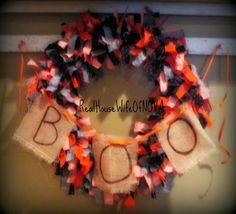 Real HouseWife Of NOVA: Halloween Wreath