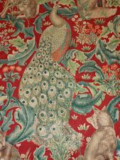WILLIAM MORRIS CURTAIN FABRIC FOREST 5 METRES DK2976