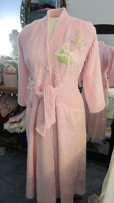 Custom Glamour Girl Chenille Bath Robe