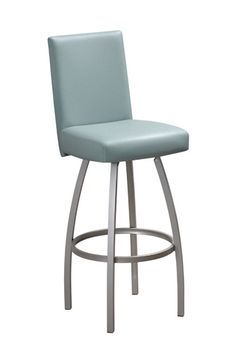 The Nicholas swivel stool by Trica brings understated elegance to any room and is built to last. Enjoy this contemporary look with our free shipping!