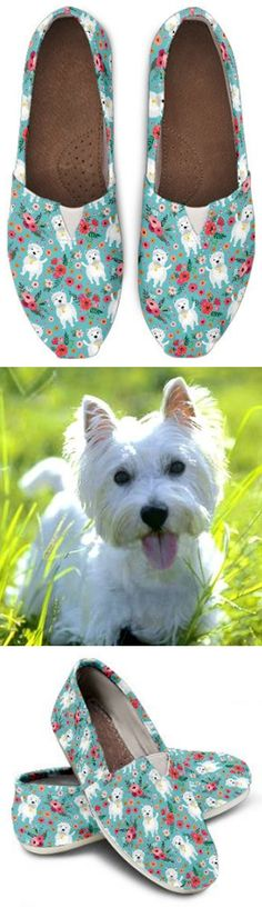 Do you love Westies? Check out our amazing Westie Shoes, Bags, Socks and more!