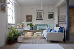 Bemz cover for Nikkala 3 seater sofa in Sand Beige Belgian Linen Blend