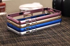 2016 new ultra-thin metal frame covered call protection Luxury aluminum case protective sleeve for iphone 4 4s case