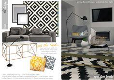 Living Room project in Saint Louis, US designed by Al'design team  - Living Room Design