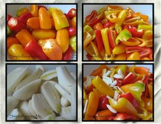 Roasted Mini Bell Peppers 1