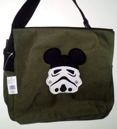 Mouse ears Stormtrooper bag