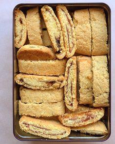 Italian Cookies, Italian Desserts, Sweet Desserts, Jam Cookies, Biscotti Cookies, Keto Chocolate Chip Cookies, Almond Cookies, Confort Food, Macarons