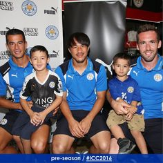 Leicester City (@LCFC) in LA 27 Jul 2016 Leicester City Football, Leicester City Fc, Foxes, Club, Twitter, Fox