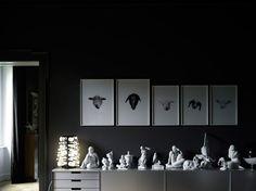 Elisa Ossino Studio   Sympas, les têtes de moutons : )