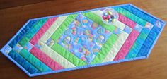 Hey, I found this really awesome Etsy listing at https://www.etsy.com/listing/225721965/colorful-quilted-table-runner-for-easter
