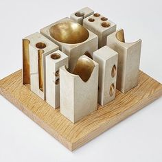 ARTBOOK | D.A.P. / artbook.com Brad Cloepfil / Allied Works Architecture: Case Work by Metropolis Books This architectural model of the #NationalMusicCentreofCanada is comprised of concrete and musical instruments. @metropolisbooks : @artbook