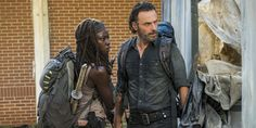 The Walking Dead isn't exactly the happiest show on television. Still, Rick and Michonne are doing pretty well as a couple, and Andrew Lincoln has weighed in on whether starting a family could be in their future.