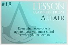 A Lesson Learned From Altair