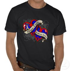 Autism Hope Faith Dual Hearts T-shirts #autism #caregiver #gifts #tshirt Available at http://www.zazzle.com/autism_hope_faith_dual_hearts_t_shirts-235009924033958997?rf=238505586582342524