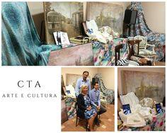 """Arte, viaggi, quadri. Sono questi i temi del libro """"Sull'onda"""" di Claudia Farina, alla cui presentazione i nostri tessuti hanno fatto da cornice. Ringraziamo @ldellanima per lo splendido allestimento di cui ci ha reso parte...  #tessuti #interiordesign #tendaggi #textile #textiles #fabric #homedecor #homedesign #hometextile #decoration #ctasrl Visita il nostro sito www.ctasrl.com e scarica le nostre brochure su:http://bit.ly/1nhrLQM"""