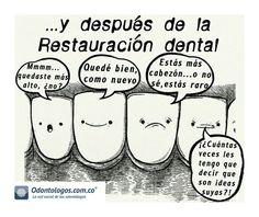 Estás más cabezón... o no sé, estás raro #OdontólogosCol #Odontólogos