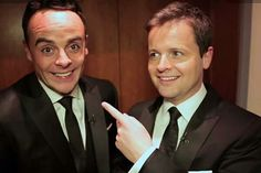 I LOVE Ant and Dec!!! <3<3<3