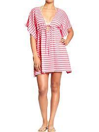 Catalina Women S Plus Size Crochet Tunic Swim Cover Up