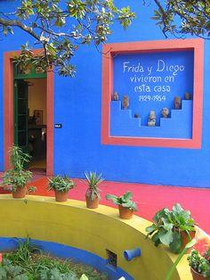 Museo Frida Kahlo, La Casa Azul.