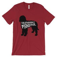 Goldendoodle Monster - Unisex Tee