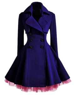 Buy Stunning Lapel Breasted Patchwork Overcoats online with cheap prices and discover fashion Overcoats at Fashionmia.com.