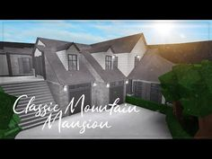 Happy Canada day to all my Canadian viewers! So this build was a pain in the butt to construct and I really didn't have the enthusiasm to finish. Colonial Mansion, House Plans Mansion, Modern Mansion, Cheap Houses To Build, Build Your House, Modern Family House, Family House Plans, Home Building Design, Building A House
