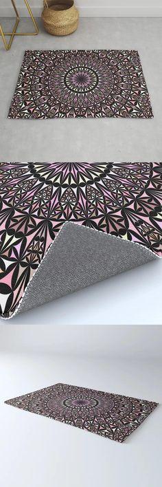 Pink Mosaic Window Mandala Rug by David Zydd #MandalaRug #BestRugs #SacredGeometry #Room #MandalaDecoration #MandalaRug #Mandala #Art (tags: decor, mandala rug, home decoration ideas, bohemian decor, art, mandala decor, bohemian decoration, graphic, round, mandala art, yoga, rug design, rug, mandala, gift, home, mandala decoration, home decorating ideas, print) Mandala Rug, Mandala Artwork, Mandala Design, Cool Rugs, Bohemian Decor, Accent Pillows, Decor Room, Mosaic, Windows