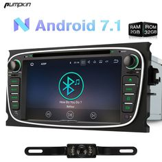 Cheaper US  289.09 Pumpkin 7 Inch 2 Din Android 7.1 Car DVD Player For Ford  Mondeo 9fa90b208019