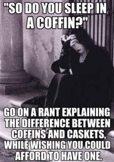 goth problems