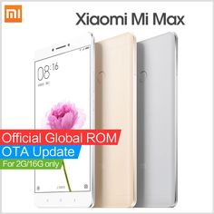 "Xiaomi Mi Max smartphone Mimax 6.44"" Snapdragon 650 Hexa Core 4G LTE mobile phones #russia #china #hongkong #brazil"