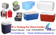 Electrical Safety Testing Lab ITC India: IP 24 testing for Chest Cooler