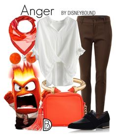 """Anger"" by leslieakay ❤ liked on Polyvore featuring Bling Jewelry, Bally, Gucci, OTTO, Vita Fede, Chicwish, disney and disneybound"