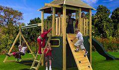 Make your garden the best place to be: just add a climbing frame