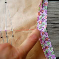 How I Mark Sewing Points on Fabric
