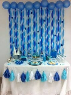 Birthday Party Decorations 31736372350448572 - Frozen Disney Birthday Party Ideas Photo 10 of 11 Catch My Party Source by indulgewifstyle Diy Birthday Decorations, Balloon Decorations, Baby Shower Decorations, Blue Party Decorations, Baby Boy 1st Birthday, 1st Birthday Parties, Birthday Cake, Mermaid Birthday, Deco Ballon