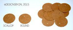 Kraft Price Tags, Kraft Round Hand Tag by DesignsByZal on Etsy