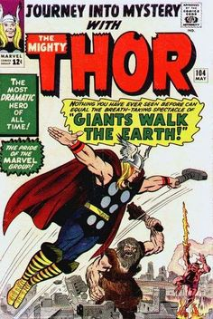Journey into Mystery #104. Thor.