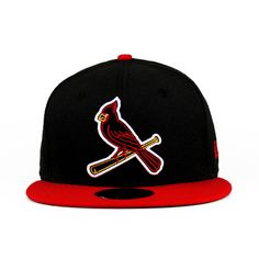 St Louis Cardinals The Neon Sign Team Colors 59fifty