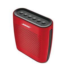 Bose SoundLink Colour - Altavoz portátil con Bluetooth, rojo Bose