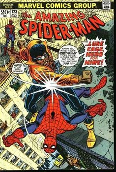 The Amazing Spider-Man #123 - Just a Man Called Cage