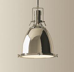 Benson Pendant - contemporary - pendant lighting - by Restoration Hardware